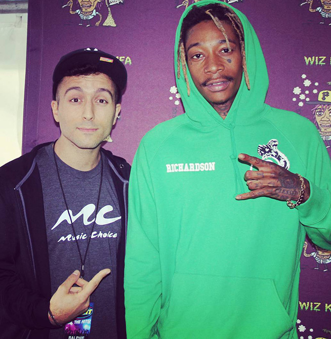 Backstage at the boys of zummer tour with fall out boy and wiz its always nice to see artists that still dont take such things as people wanting to meet them for granted m4hsunfo