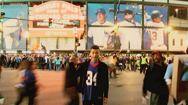 #TBT from my first trip to Wrigley Field last year.
